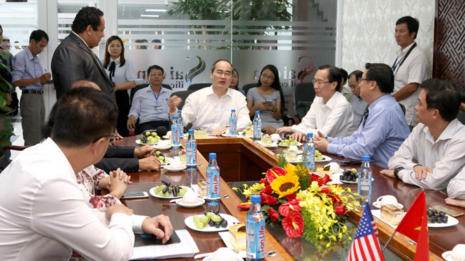HCM City party secretary: 'Do businesses need PR projects in Saigon Silicon in the US?'
