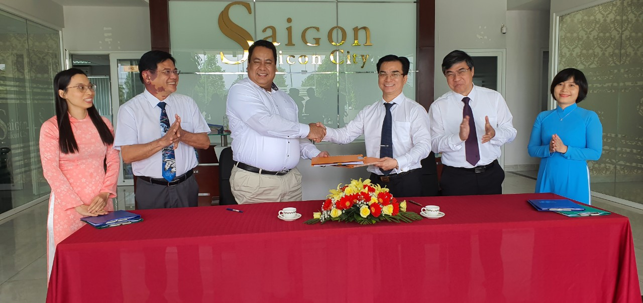 SAIGON SILICON CITY (SSC) SIGNED CO-OPERATION FOR DESIGN AND CONSTRUCTION