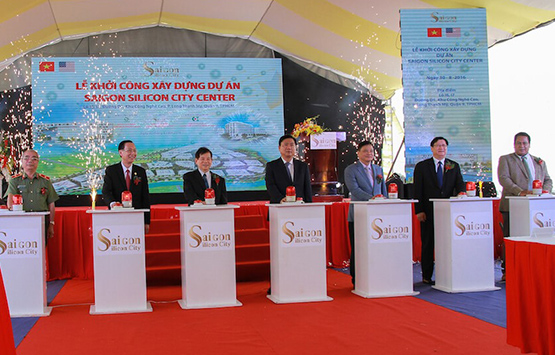 Work starts on Saigon Silicon City Centre